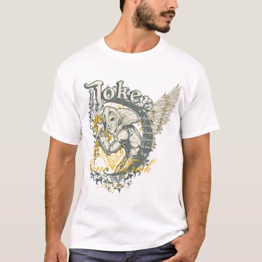 The Joker T-shirt - Wings on back