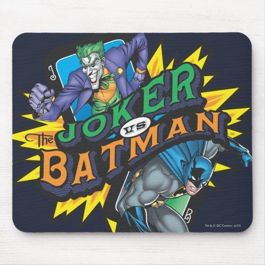 The Joker Vs Batman Mouse Mat
