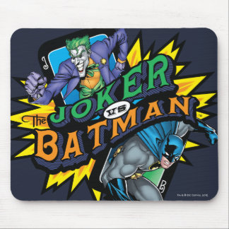 The Joker Vs Batman Mouse Pad