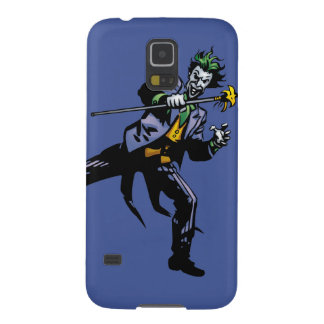 The Joker with cane Galaxy S5 Cover