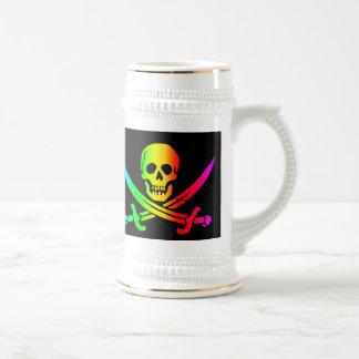 The Jolly RastafarI Beer Stein