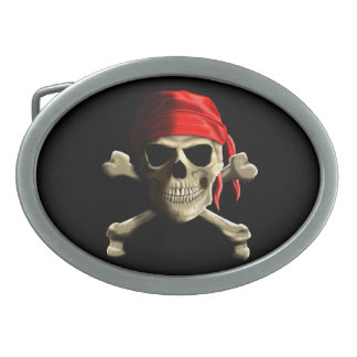 The Jolly Roger Belt Buckles