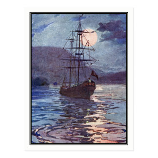 The Jolly Roger by Alice B. Woodward Postcard