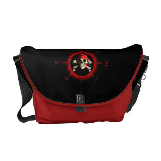 The Jolly Roger Courier Bag