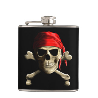 The Jolly Roger Hip Flask