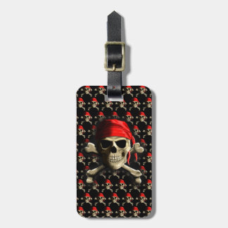 The Jolly Roger Luggage Tag