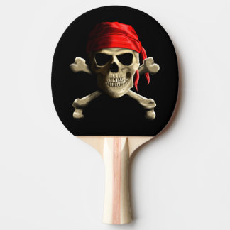 The Jolly Roger Ping Pong Paddle