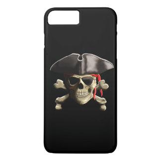 The Jolly Roger Pirate Skull iPhone 8 Plus/7 Plus Case