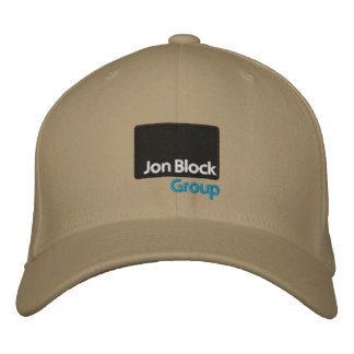 The Jon Block Group Embroidered Cap Embroidered Hats