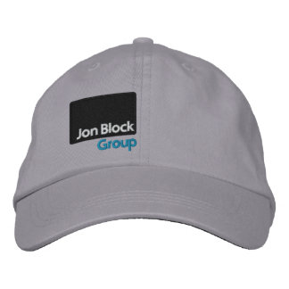 The Jon Block Group Embroidered Cap side Embroidered Hat