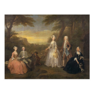 The Jones Family, c.1730-1 Postcard