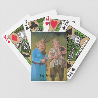 The Jongleurs Bicycle Playing Cards