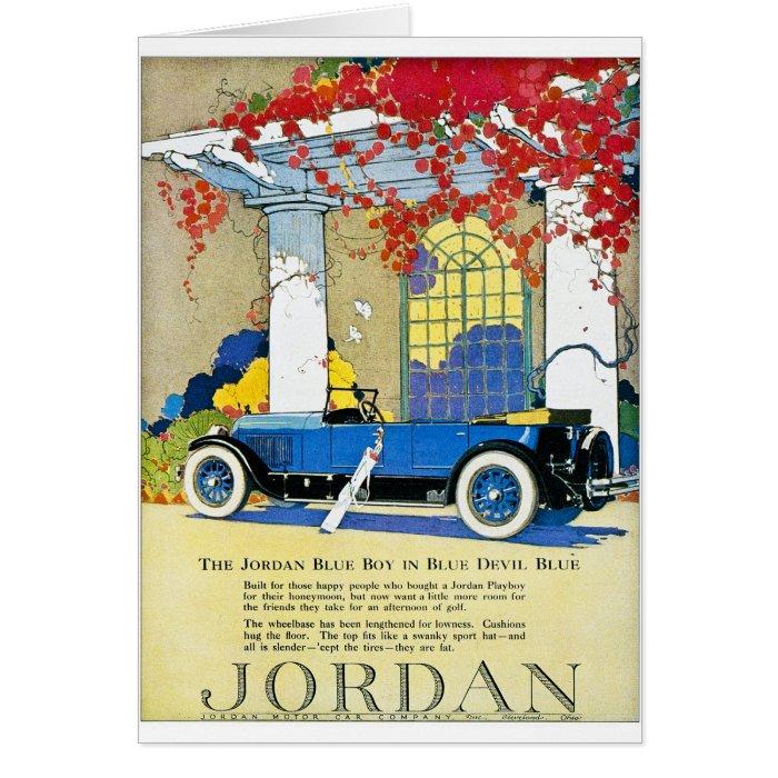 The Jordan Blue Boy Greeting Card