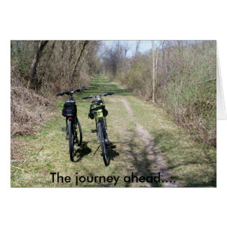 The Journey Ahead greeting card