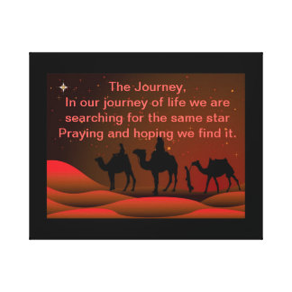 THE JOURNEY GALLERY WRAP CANVAS