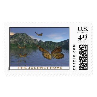 The Journey Home Postage Stamps
