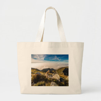 The journey large tote bag