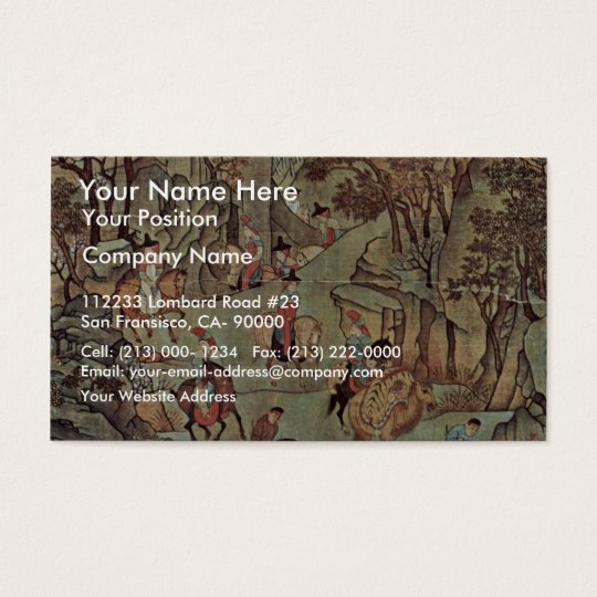 The Journey Of The Emperor Ming Huang Shu After By Business Card
