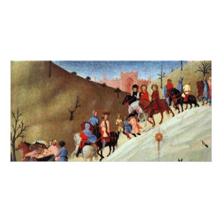 The Journey Of The Magi, A Fragment Of A Picture Personalized Photo Card