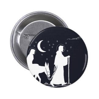 The Journey To Bethlehem 6 Cm Round Badge
