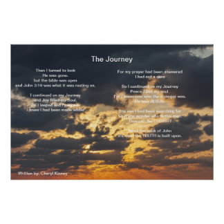 The Journey  Written by: Cheryl Kinney Poster