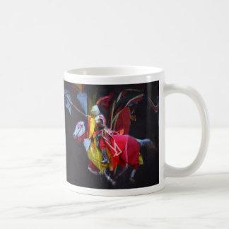 The Joust Basic White Mug