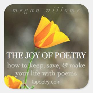 The Joy of Poetry Stickers