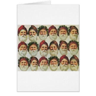 The Joy of Santa Greeting Card