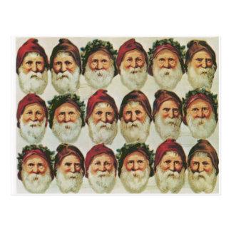 The Joy of Santa Postcard