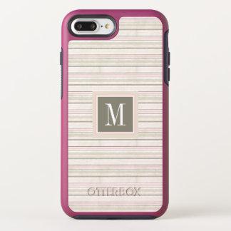 The Joy of White | Watercolor Stripes Pattern OtterBox Symmetry iPhone 8 Plus/7 Plus Case