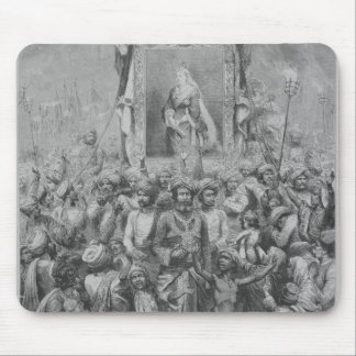 The Jubilee in the East- An Allegory, 1887 Mouse Mat