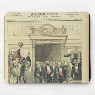 The Jubilee of Louis Pasteur  at the Sorbonne Mouse Pad
