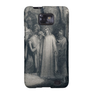 The Judas Kiss Mark 14 45 by Gustave Doré 1866 Samsung Galaxy SII Covers