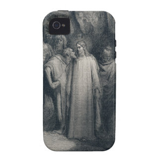 The Judas Kiss Mark 14:45 by Gustave Doré 1866 iPhone 4/4S Covers