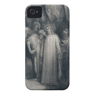 The Judas Kiss Mark 14 45 by Gustave Doré 1866 iPhone 4 Case
