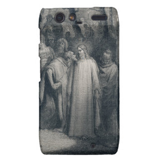The Judas Kiss Mark 14 45 by Gustave Doré 1866 Droid RAZR Covers