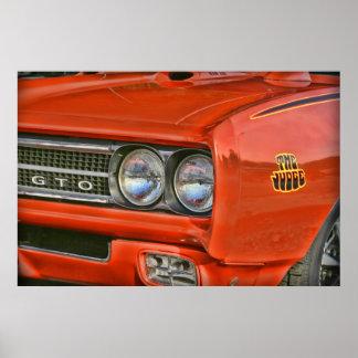 The Judge 1969 Pontiac GTO Poster