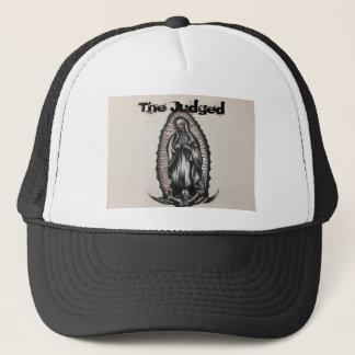The Judged Mary Skeleton Trucker Trash Hat
