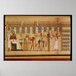 The Judgement of Osiris, detail Print