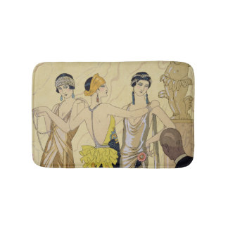 The Judgement of Paris, 1920-30 (pochoir print) Bath Mats