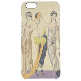 The Judgement of Paris, 1920-30 (pochoir print) Clear iPhone 6 Plus Case