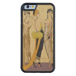 The Judgement of Paris, 1920-30 (pochoir print) Maple iPhone 6 Bumper