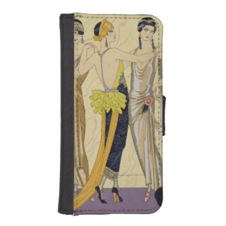 The Judgement of Paris, 1920-30 (pochoir print) iPhone 5 Wallets