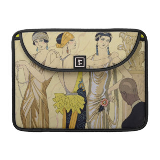 The Judgement of Paris, 1920-30 (pochoir print) Sleeve For MacBooks