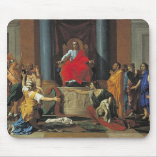 The Judgement of Solomon, 1649 Mouse Pad