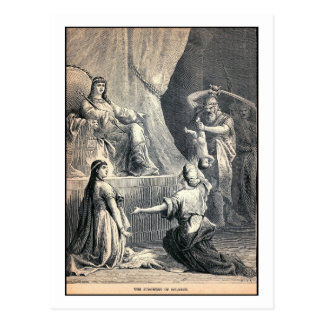 The Judgment of Solomon, Bible, Vintage Postcard