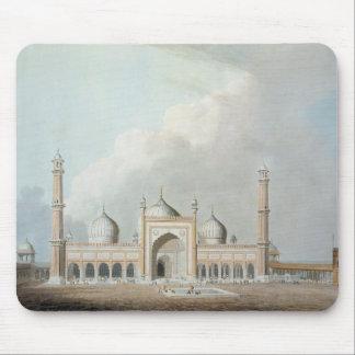 The Jummah Musjed, Delhi, plate XXIII from 'Orient Mouse Pad
