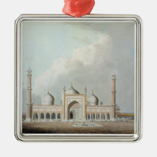 The Jummah Musjed, Delhi, plate XXIII from 'Orient Silver-Colored Square Decoration