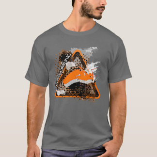The jump, jumping kitesurfer sign T-Shirt