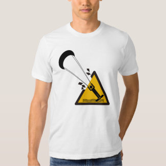 The jump. Kite surfing humor shirt